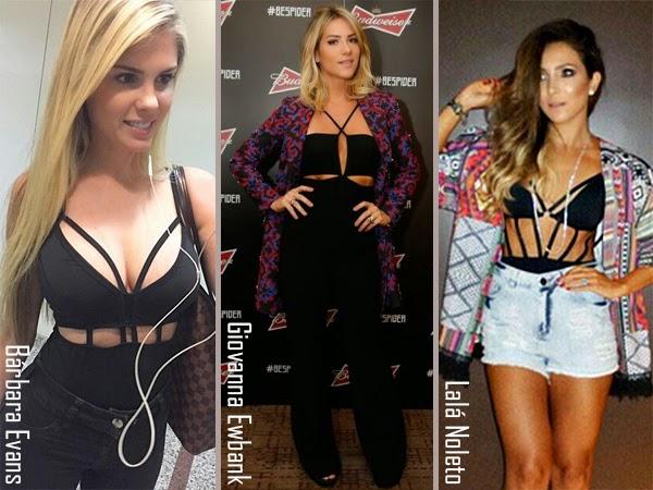 body-bodysuit-strappy-famosas-celebridades-estilo-moda-fashion-look-tendencia-trendy-giovanna-ewbank-lala-noleto-barbara-evans